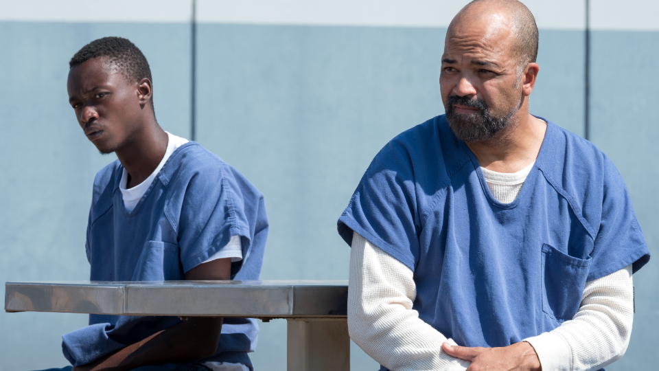 Jah (Ashton Sanders) & JD (Jeffrey Wright)