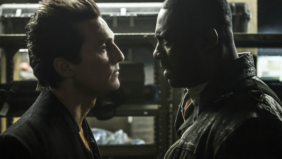 Man in Black (Matthew McConaughey) und Roland Deschain (Idris Elba)